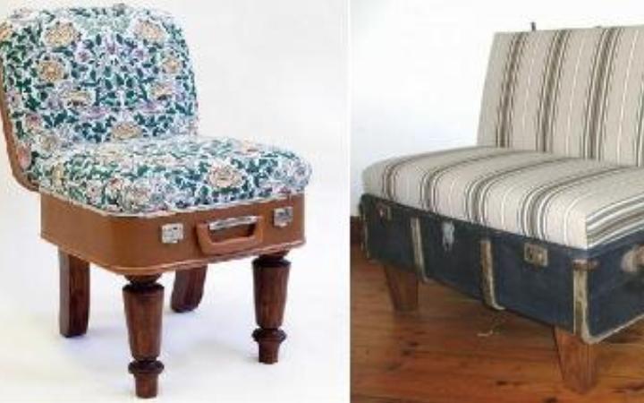 Стул или кресло из чемодана