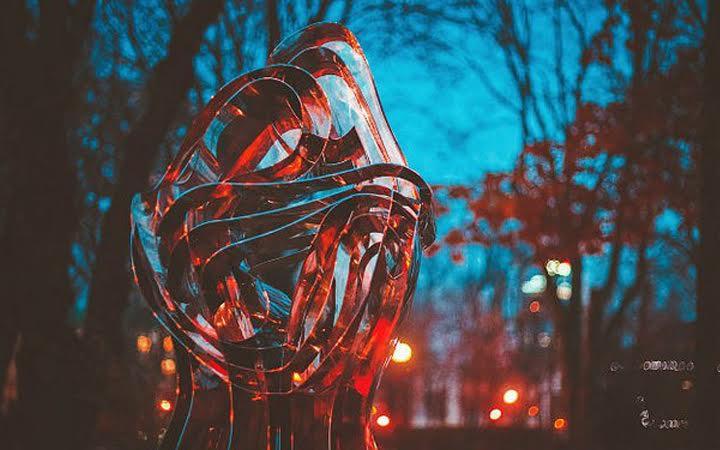 Скульптура Любовь. Парк Шевченко. Киев. Романтические места