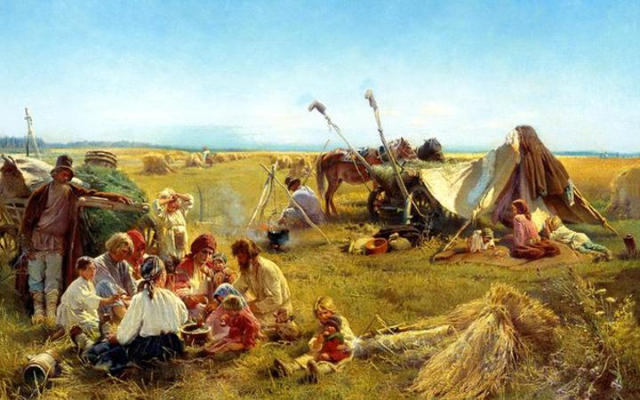 День Ольги страдницы. Полевые работы