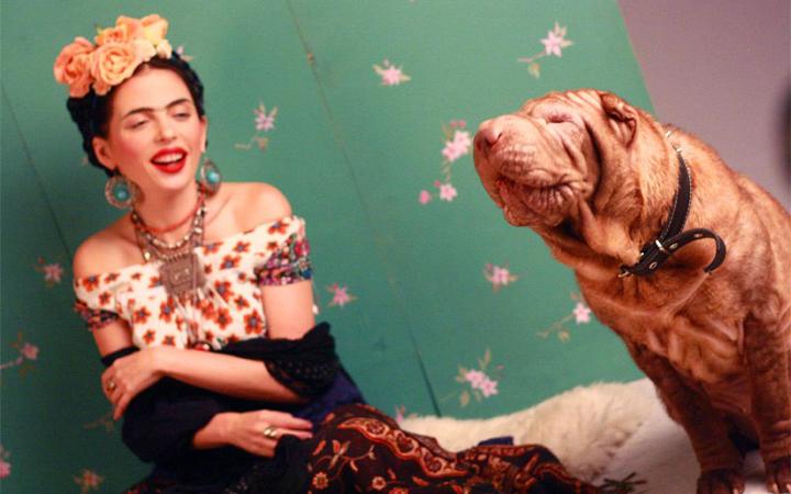 Qarpa. Ірена Карпа в образе Фриді Кало. Карма