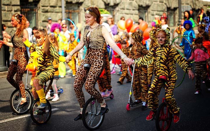 Международный день тигра в Киеве