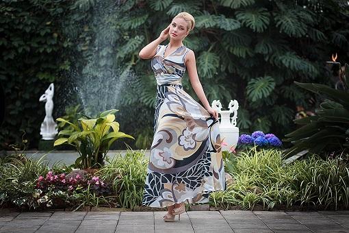 Стильные женские платья оптом от интернет-магазина CosmoCity
