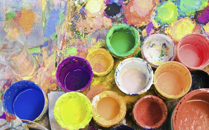 Творчество. Живопись. Краски