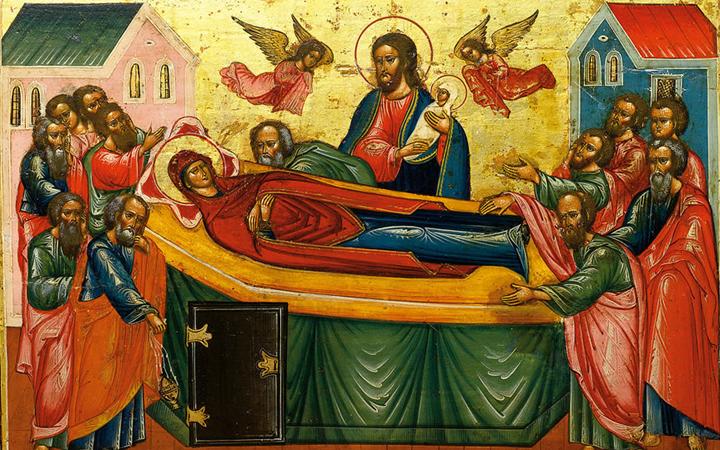 Успение Пресвятой Богородицы. Икона