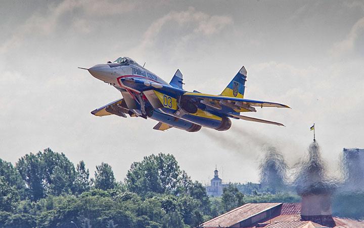 День авиации Украины. Самолет. Авиация
