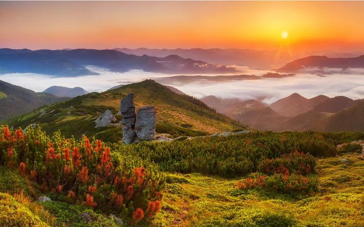 Закарпатье. Природа. Горы