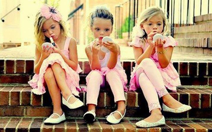 Дети. Красота. Мода. Макияж