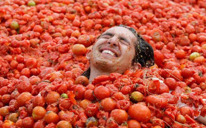 Томатина. Битва помидорами