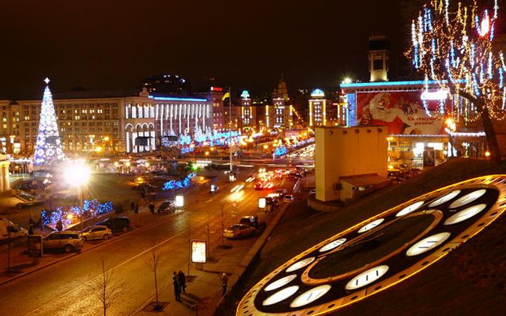 Туры по Украине: Тур Новый Год в Киеве