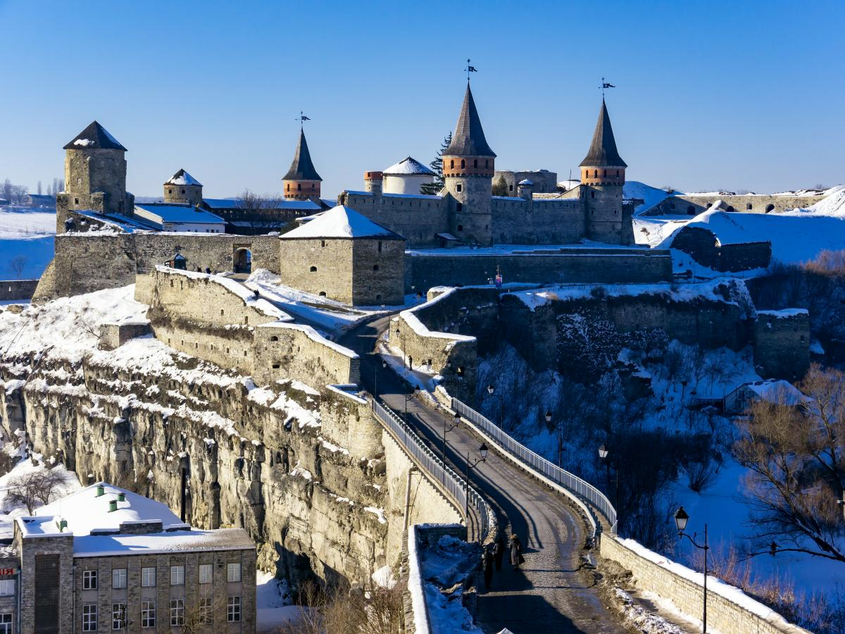 Тур по Украине: На Рождество в Каменец-Подольский