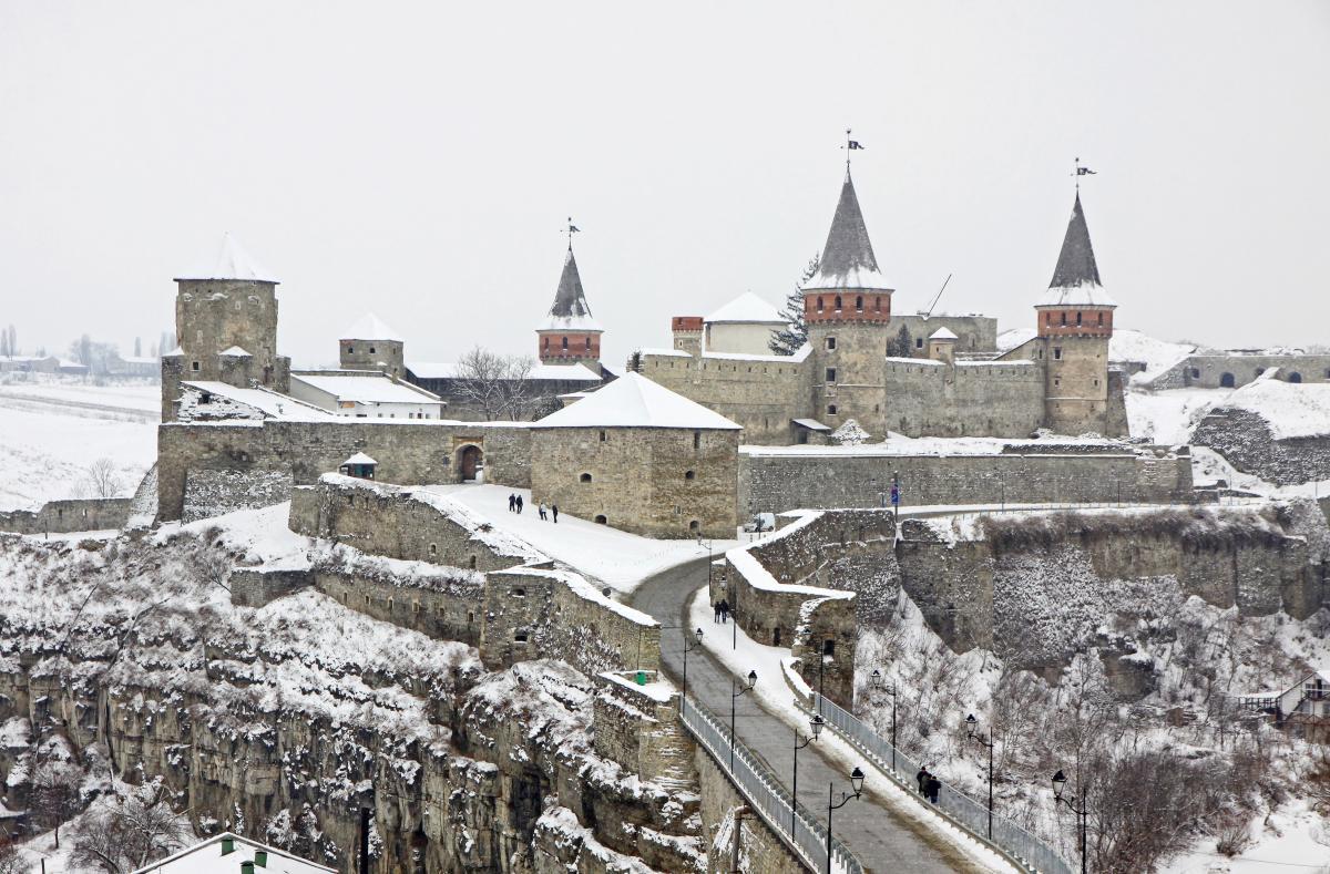 Каменец-Подольский Замок, Каменец-Подольский, Хмельницкая обл.