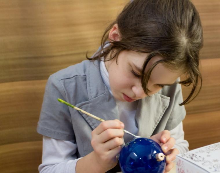 Мастер-класс в Киеве: Мастер-класс по росписи новогодних игрушек