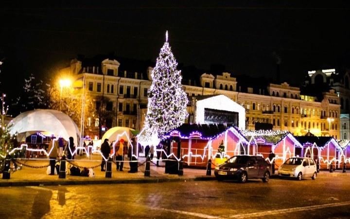 Киев. Новый год 2016