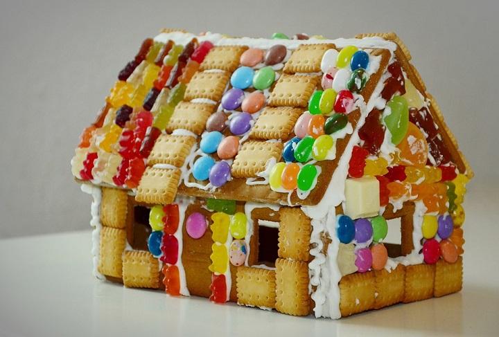 Построй дом своей мечты и съешь его