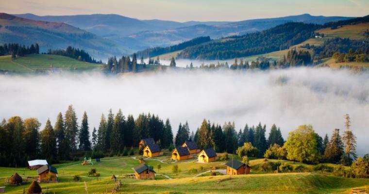 Тур по Украине: Карпаты вдохновляют и согревают!