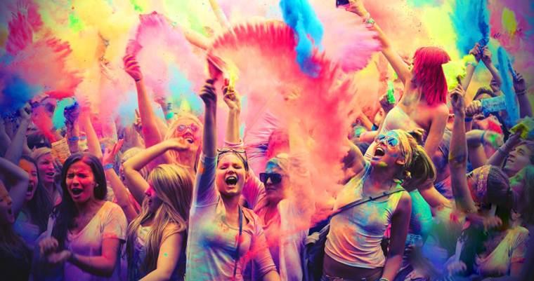 Фестиваль в Киеве: Фестиваль красок Холи