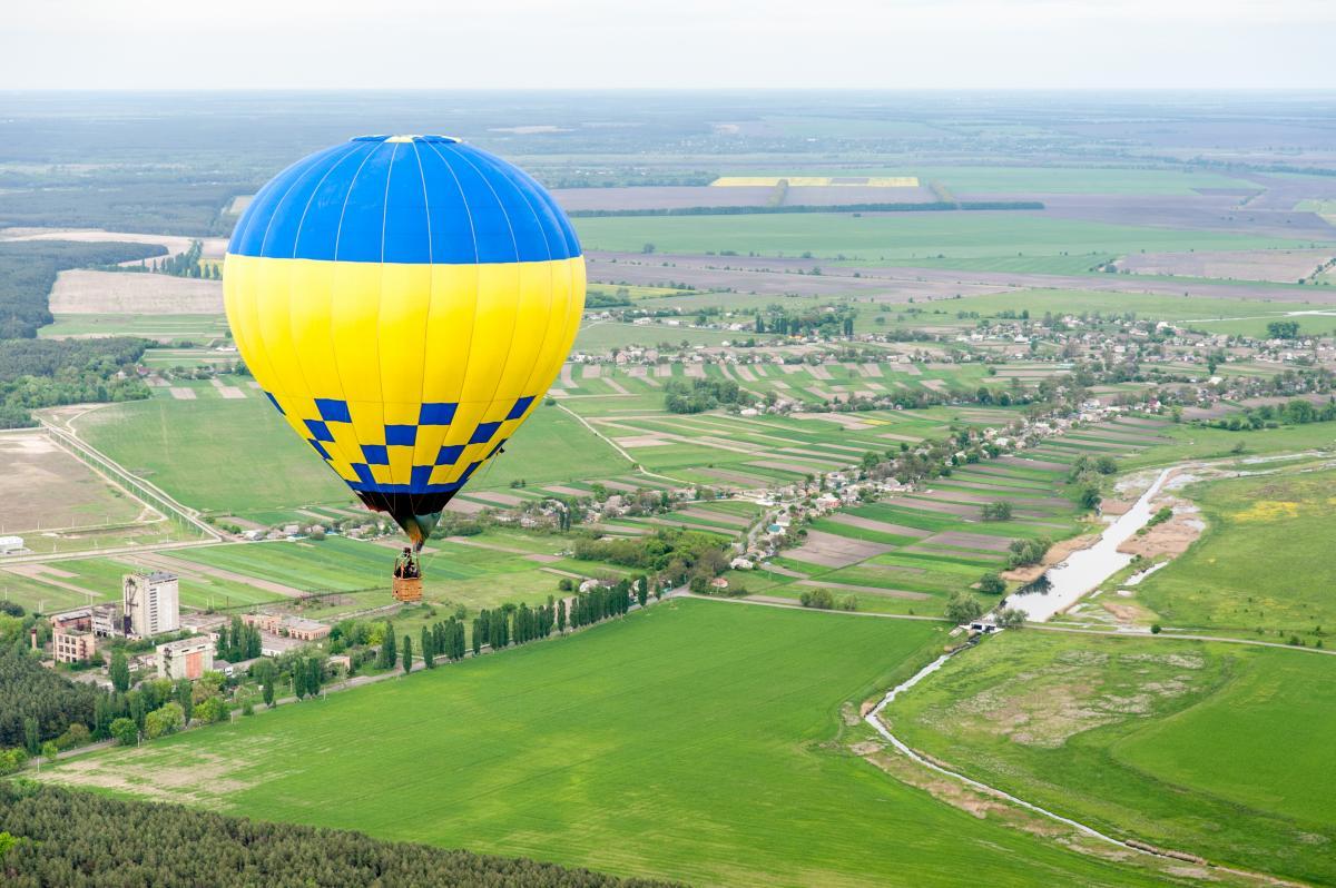 Тур по Україні: Фестиваль повітряних куль