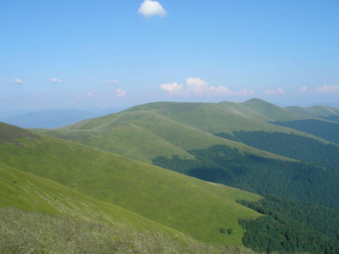 Тур по Украине: Невероятная Боржава: гора Великий Верх — водопад Шипот