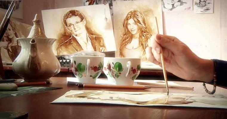 Мастер-класс по кофейной живописи