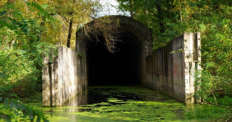 Сталинские тоннели под Днепром
