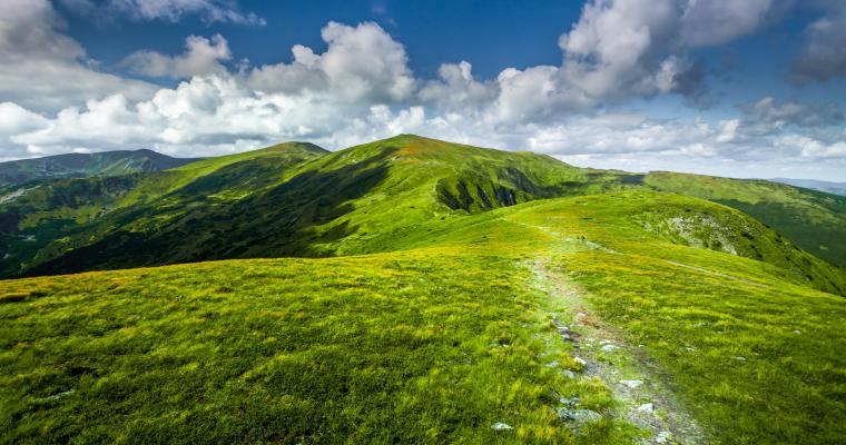 Тур по Украине: По гуцульским Альпам: Мармарошские Поп Иван и Петрос