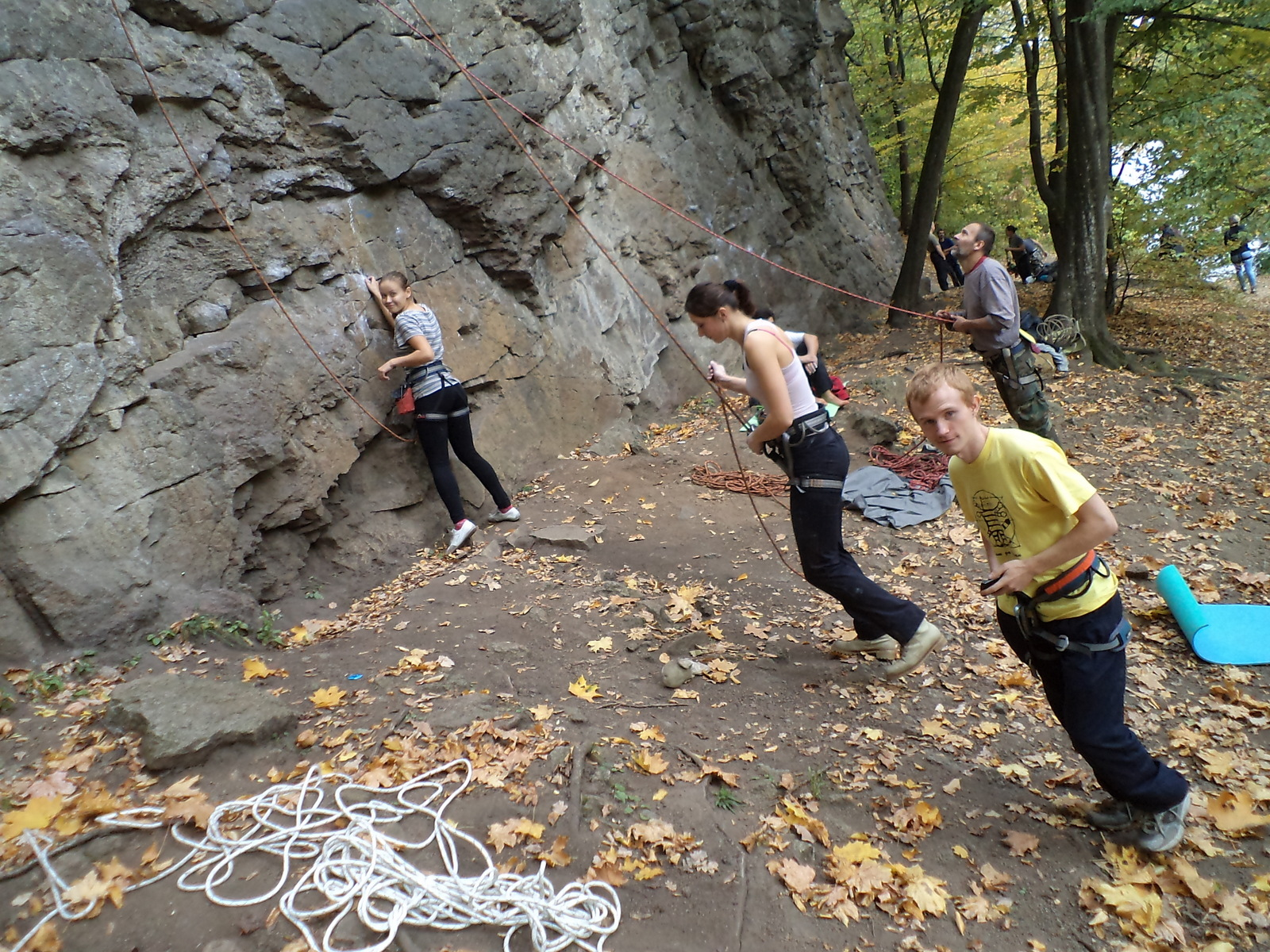 Тур по Україні: Скелелазний день в Денішах
