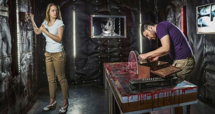 Квест комната для людей с крепкими нервами