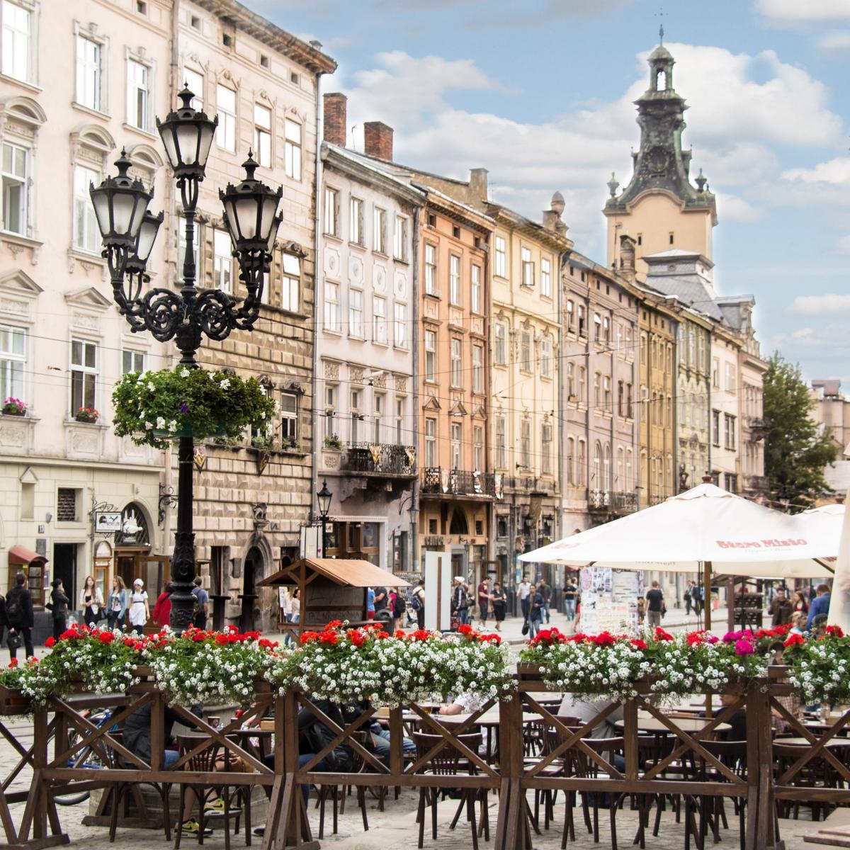 Тур по Украине: День Независимости во Львове