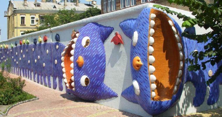 Забавные чудинки Киева