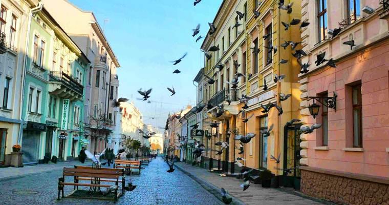 Черновцы: путешествия на выходные по Украине