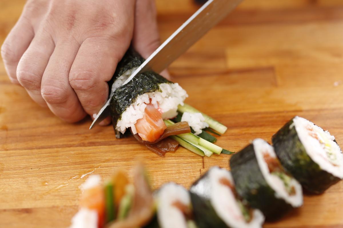 Мастер-класс в Киеве: Мастер-класс японской кухни. Готовим суши и роллы