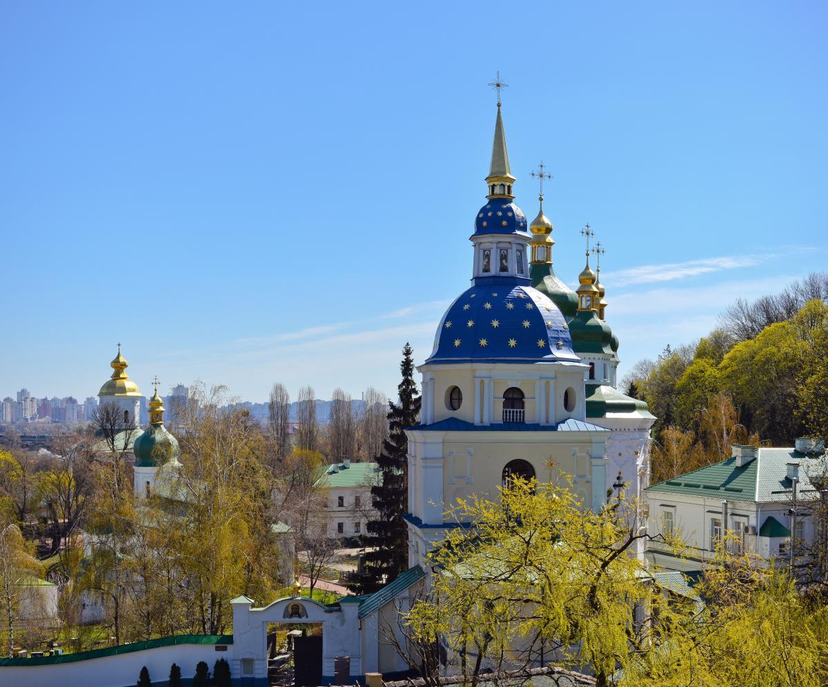 Экскурсия в Киеве: Монастыри Зверинецкой горы