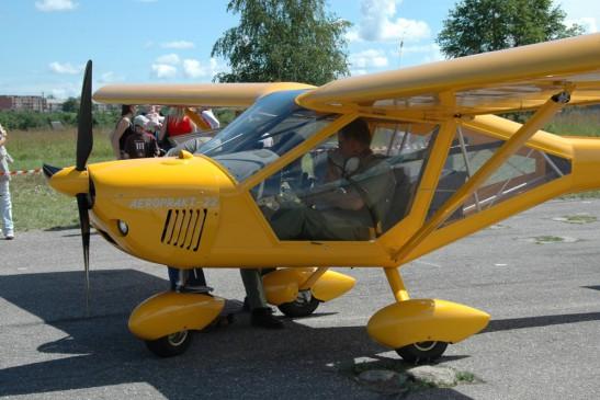 Развлечения в Киеве: Полет на самолете А-22