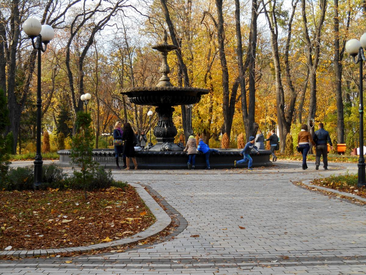 Экскурсия в Киеве: Экскурсия по Мариинскому парку