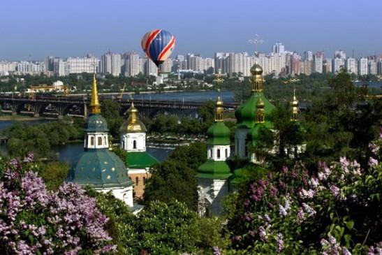 Развлечения в Киеве: Полеты на воздушном шаре