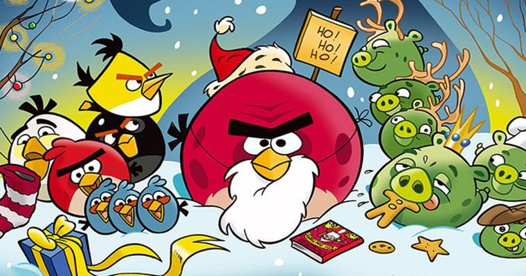 Спектакль в Киеве: Angry Bird и Новый год