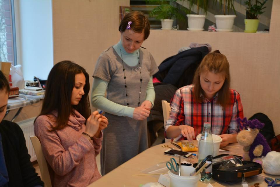 Мастер-класс в Киеве: Мастер-класс по пошиву плюшевого лосика-малыша
