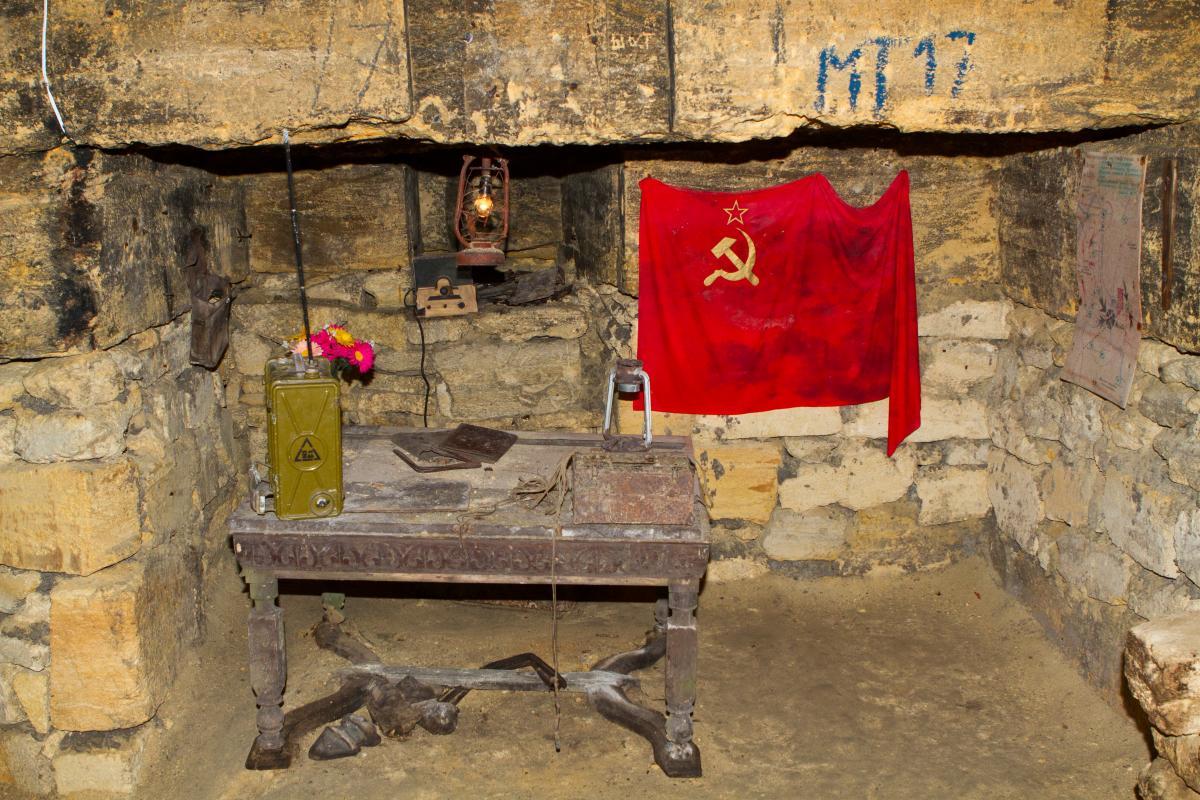 Тур по Украине: Подземелья зимней Одессы