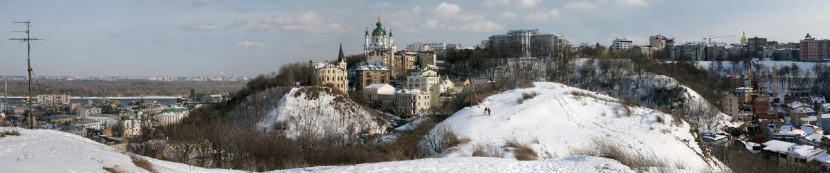 Экскурсия в Киеве: Мистическая сила Киевских гор