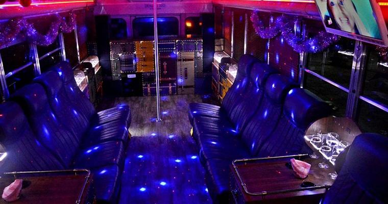 Лучшая идея для вечеринки -  дискотека на колесах