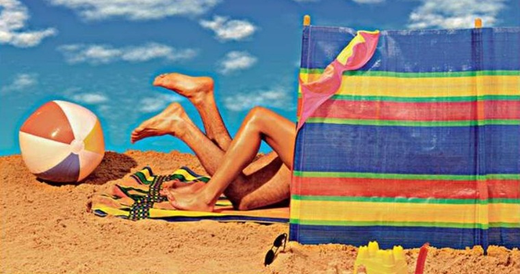 Фото секс деьей на пляже
