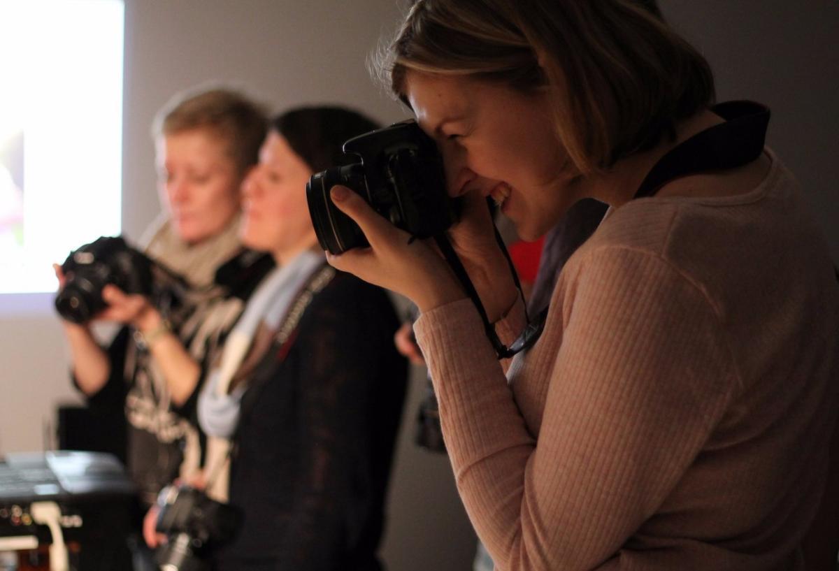 Мастер-класс в Киеве: Знакомство с зеркальной фотокамерой