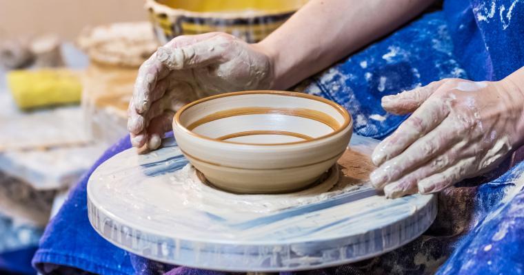 Мастер-класс в Киеве: Индивидуальные уроки гончарного мастерства
