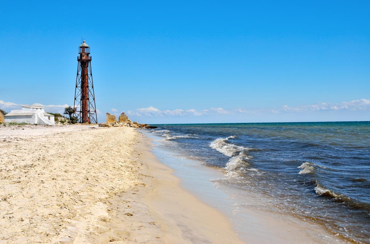 Тур по Украине: Сафари на острове Джарылгач