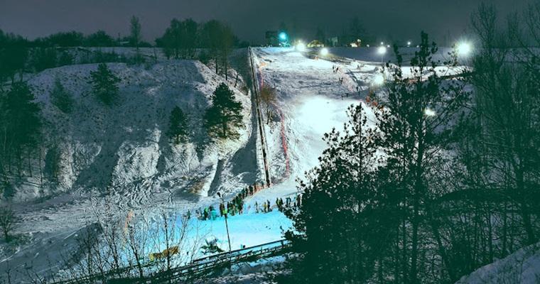 Где устроить лыжные покатушки в Киеве весной?