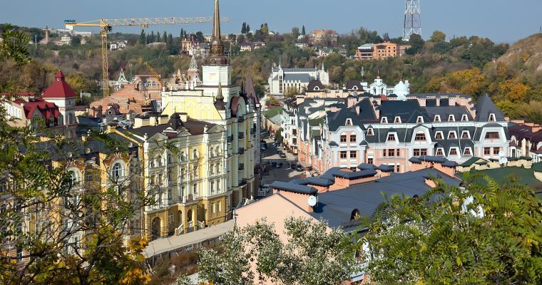 Экскурсия в Киеве: Сонет Андреевскому спуску