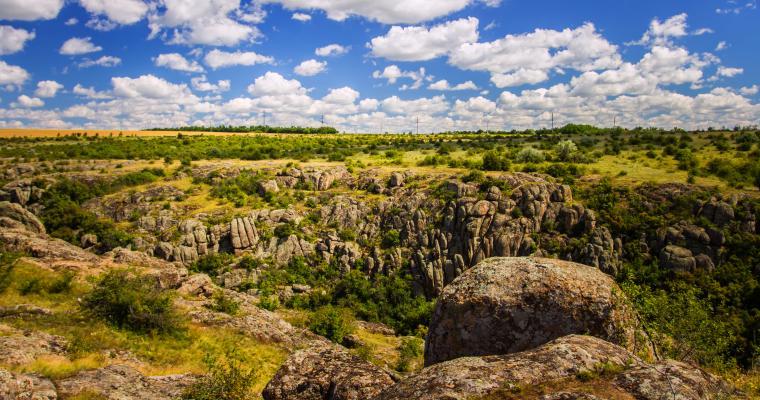 Тур по Украине: Актовский каньон и Мигейские Пороги