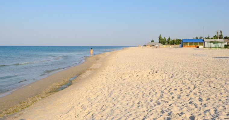 Тур по Украине: Отдых в Лазурном