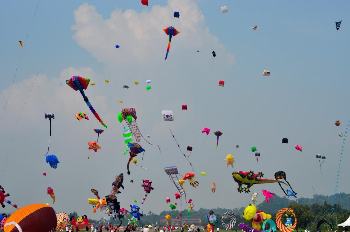 Тур по Украине: Фестиваль воздушных змеев