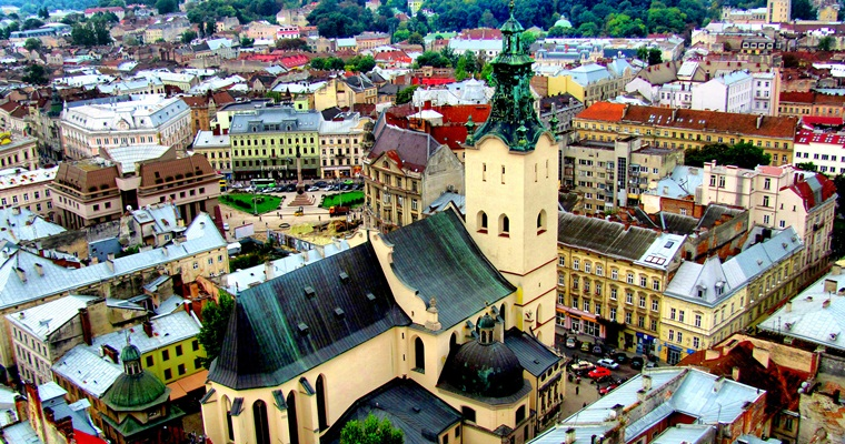 Тур по Украине: Романтический Львов